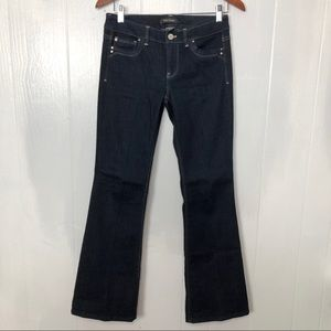 WHBM  Feel Beautiful Flare Leg Jeans 2S